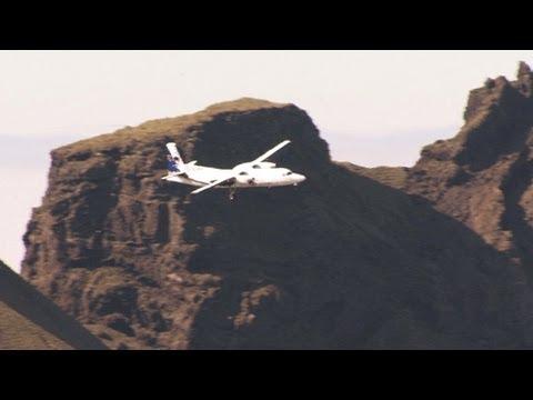 Fokker 50 tight approach
