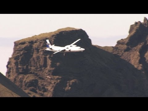 F-50 Short Final, Iceland!