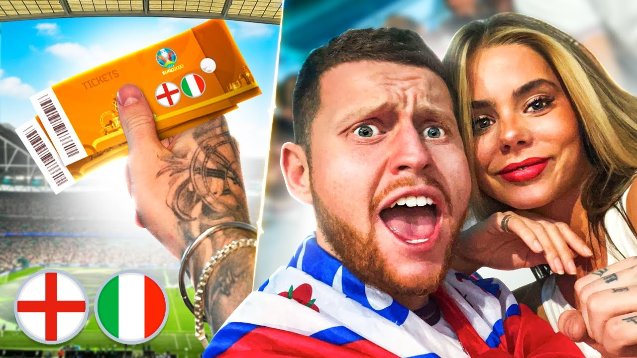 Surprising My Girlfriend With EURO 2020 FINAL TICKETS