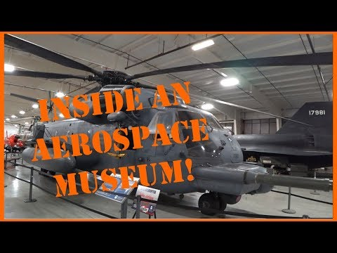 Hill Aerospace Museum at Hill Air Force Base in Utah
