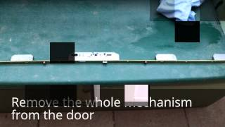 How To Replace Multipoint Lock Gearbox Lockcase On Upvc Door