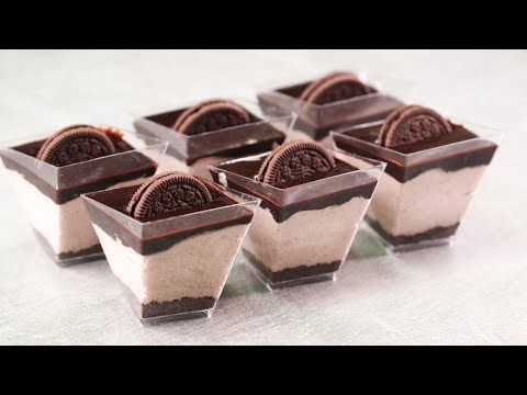 10 MIN. OREO MOUSSE DESSERT CUP l CHOCOLATE OREO MOUSSE l EGGLESS & WITHOUT OVEN