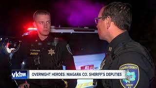 Being vigilant: Niagara County Sheriff's Deputies patrol at night