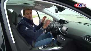 Peugeot 308 -- road test by SAT TV Show 23.03.2014.