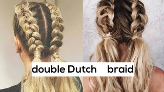 double sided ponytail | school girl hairstyle