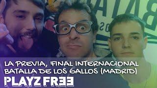 Kensuke entrevista a Bnet y Zasko - Final internacional Batalla de Gallos 2019 | Playzfree | Playz