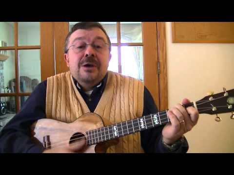 "Willard Losinger Performs ""The Bonniest Lass"" by Robert Burns, with Baritone Ukulele Accompaniment"