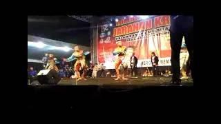 Festival seni tari jaran kreasi New Kuda Irama di kediri