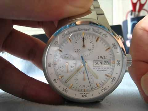 IWC GST Automatic Chronograph Watch Function Testing Ref.3707-013