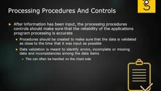 27. Application Controls