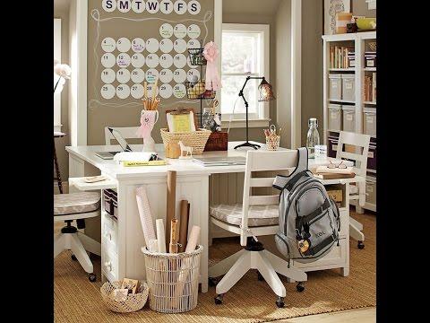 Письменный стол для школьника: формы и стили