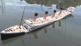 [Titanic Breakup Failures #4] Titanic Hull Sagging, Sinking