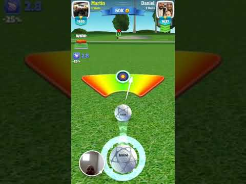 Martin Draper Chip in Golf Clash - 2017-10-28