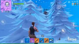 -my first video and Victoria - Fortnite batlle Royale