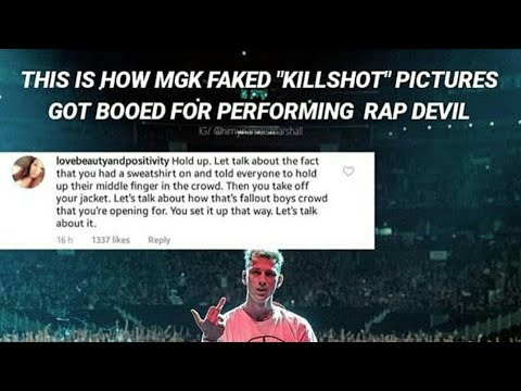 Did MGK Really Get Booed Off Stage???