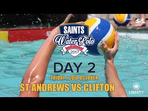 St Andrew's vs Clifton: Saints Waterpolo Invitational 20 October 2017 - Day 2