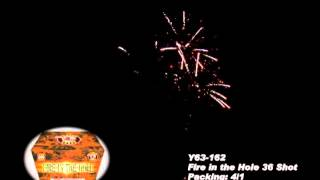 Fire in the Hole Y63 162 Cannon Fireworks by Red Apple Fireworks
