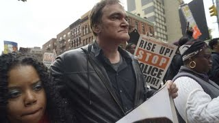 Quentin Tarantino Speaks At Police Brutality Protest