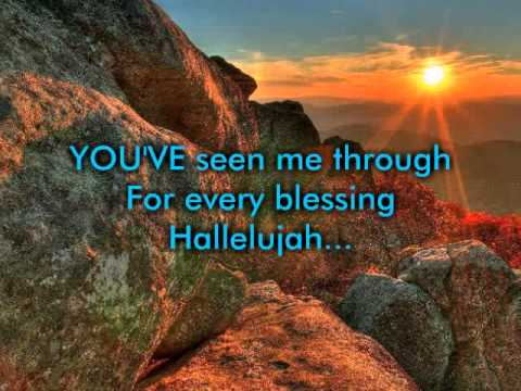 For Every Mountain - Kurt Carr (Music & Lyrics)