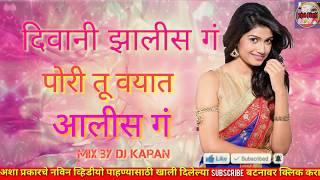 Deewani zali ga pori vayat aali g new marathi dj song