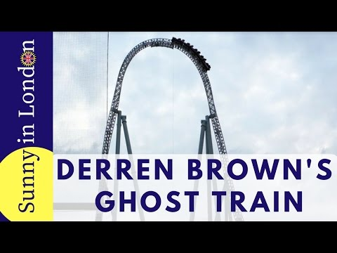 Derren Brown's Ghost Train at Thorpe Park Launch Party