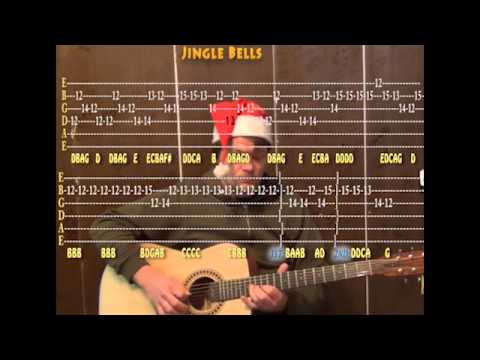Jingle Bells Christmas Cover Lead Guitar Cover Lesson With Tab