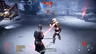 DARTH MAUL AND HIS ISB AGENTS│ Battlefront 2 Co-op (Fast Levels -  Hoth Empire)