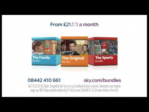 Sky TV Bundles January 2014