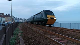 Last GWR 8 coach HST Paddington to Plymouth