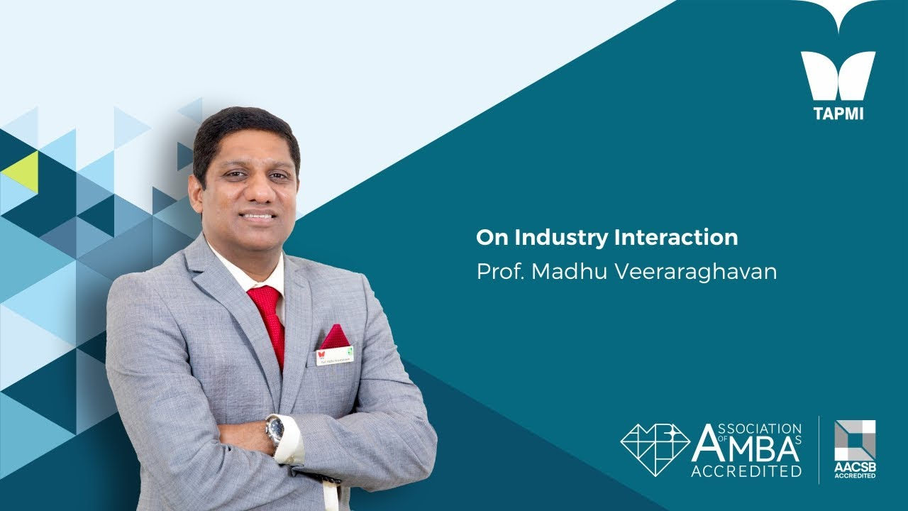 Prof Madhu Veeraraghavan, Director on Industry Interaction