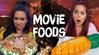 Trying Foods from Famous Movies! (Cheat Day)