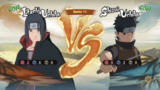 Naruto Shippuden: Ultimate Ninja Storm 4, Itachi Uchiha VS Shisui Uchiha!