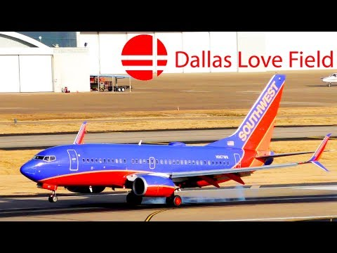 Plane Spotting In Dallas Love Field Airport (KDAL/DAL) Part 1