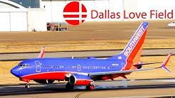 Plane Spotting in Dallas Love Field Airport (KDAL/DAL) Part 1