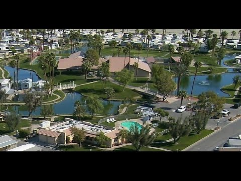 Fly Over Video Of Indio Springs Rv Resort Youtube