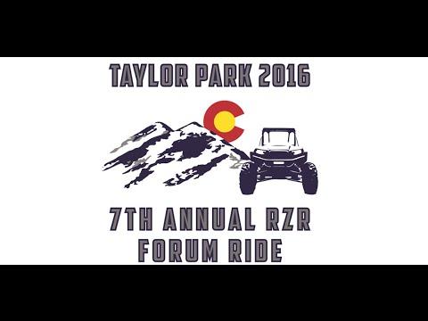 7th Annual Taylor Park Forum Ride, Taylor Park, Colorado - 2016
