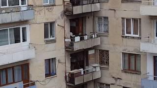 Грузия Тбилиси, район  города, где туристы не гуляют Tiflis Georgien