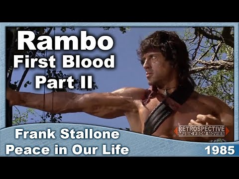Frank Stallone - Peace in Our Life (Rambo: First Blood Part II) (1985)