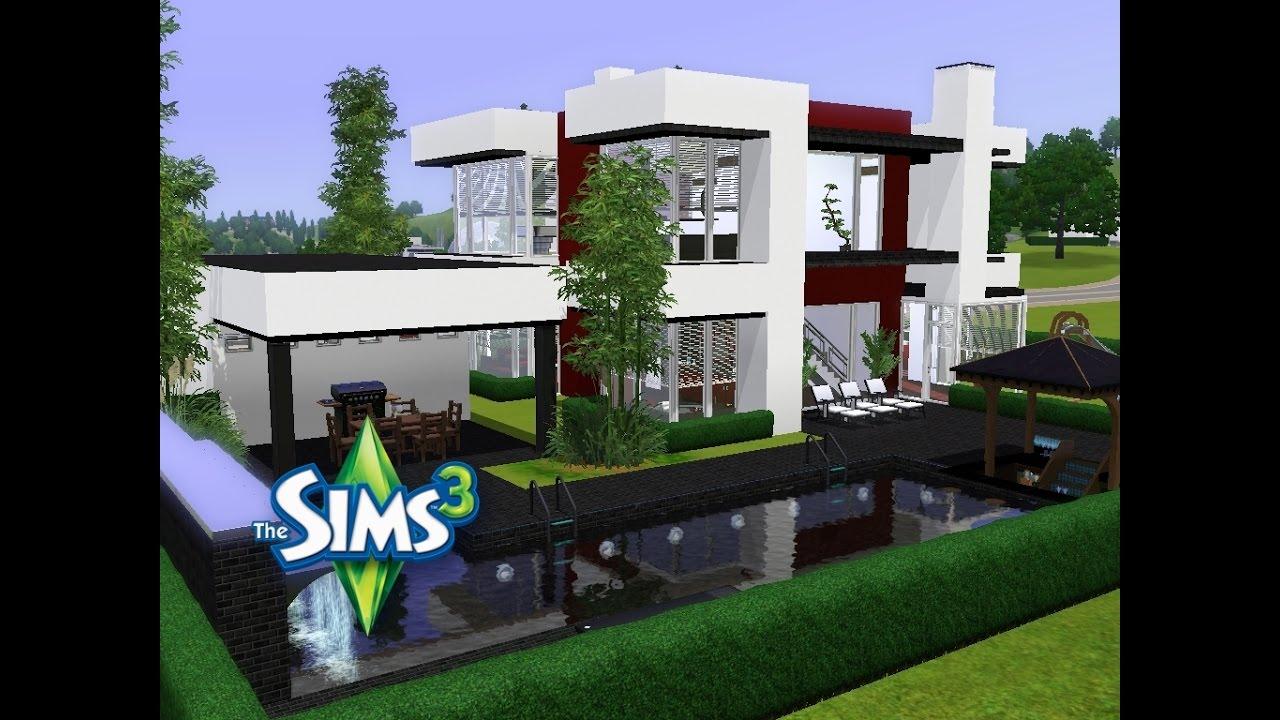 Sims 3 - Haus bauen - Let\'s build - Lichtdurchflutet und modern ...