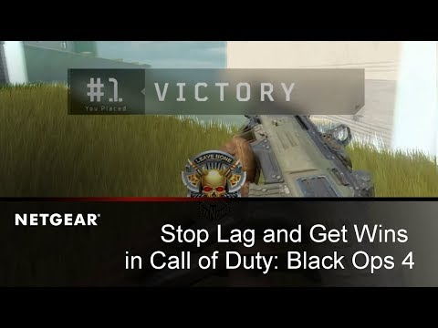 How to Fix Lag in Call of Duty: Black Ops 4 | NETGEAR