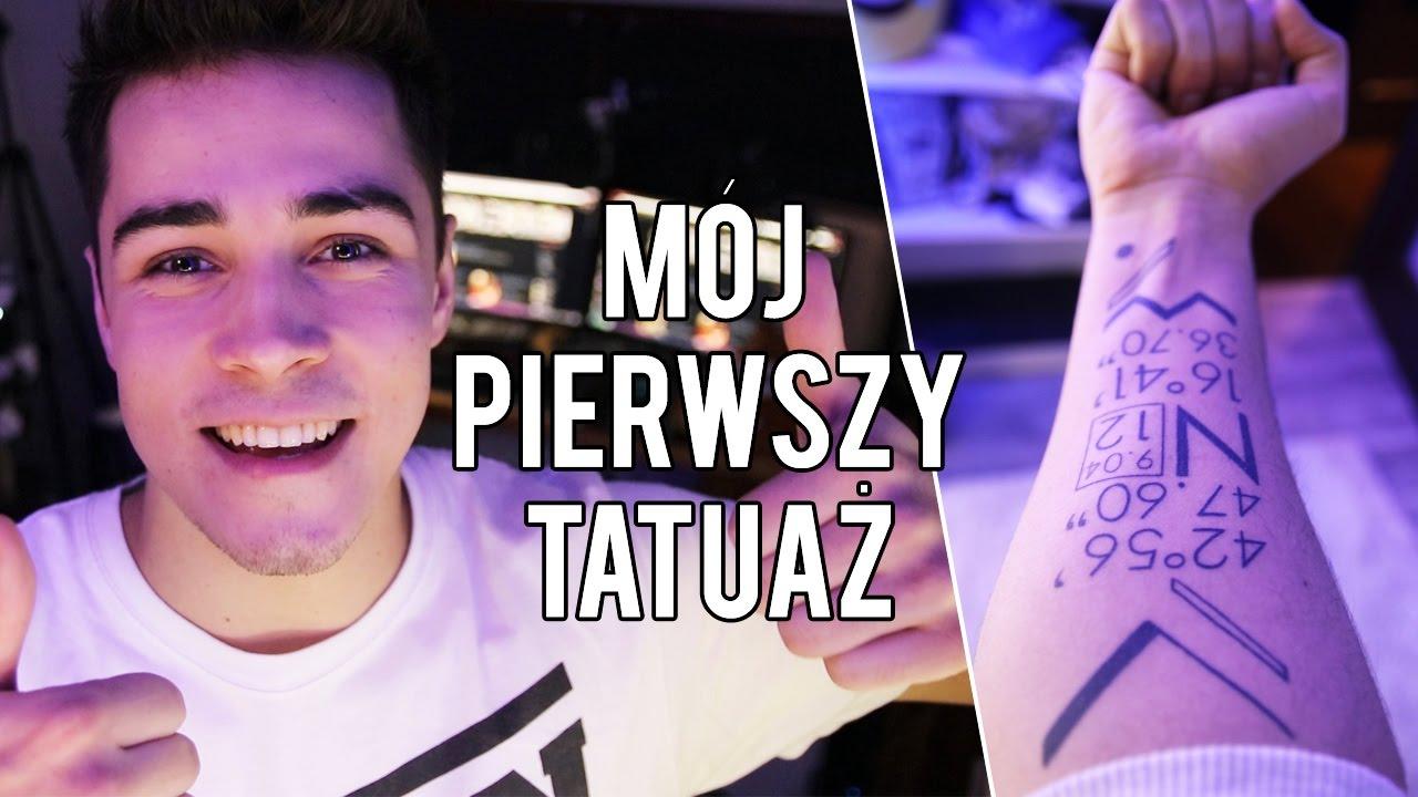 MÓJ PIERWSZY TATUAŻ! | Dziary.com