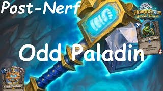 Hearthstone: Odd Paladin Post-Nerf #4: Witchwood (Bosque das Bruxas) - Standard Constructed