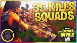 35 Kills Squads Season 5 Gameplay W/ SHB Views | Fortnite Battle Royale (Xbox) - Tendai