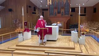 Sermon, 4:00pm, Pentecost Sunday, May 23, 2021