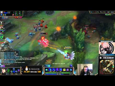 Copy of Bjergsen game hacked by Draven