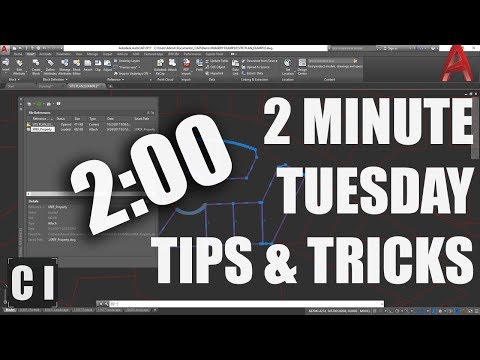 AutoCAD Tutorial: Copy or Insert Objects from Xrefs - 2 Minute Tuesday!