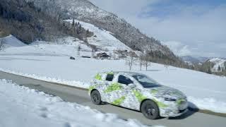 Az új Škoda Fabia még álcázva