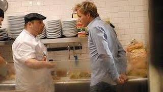 Gordon Ramsay Fights Sebastian ( Kitchen Nightmares )