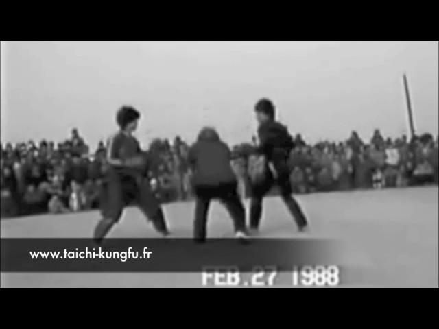 Kungfu Sanda populaire Chine 1988