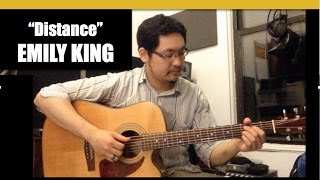 """""""Distance"""" [Solo Guitar Cover] EMILY KING"""